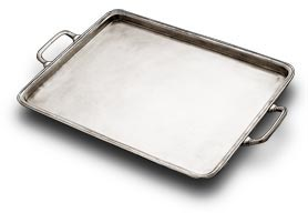 rectangular handles tray