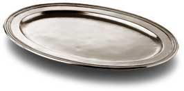 Oval carving platter