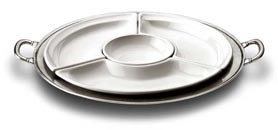 round sectional platter