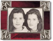 picture frame red