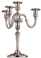 four-flames candelabra