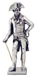 statuetta - Federico il Grande, con spada e bastone