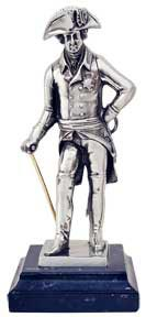 statuetta - Federico il Grande su marmo