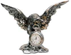 pocket watch stand - eagle