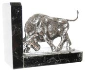 bookend - bull