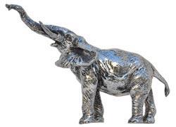 statuetta - elefante che barrisce
