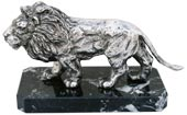 statue - lion on marble base