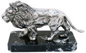 statuetta - leone con base marmo