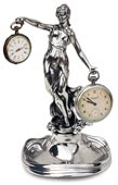 Pocket watch stand - lady