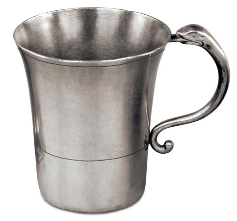 Tankard, grey, Pewter, cm h 10,5 x cl 45