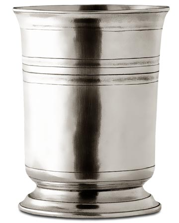 Tumbler cm h 12 x cl 45 (Pewter) - collection: Piemonte. Cosi Tabellini.