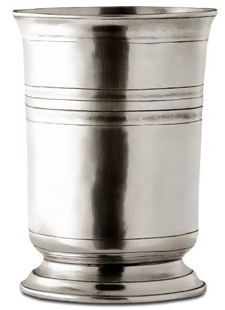 Tumbler cm h 16,5 x cl 105 (Pewter) - collection: Piemonte. Cosi Tabellini.
