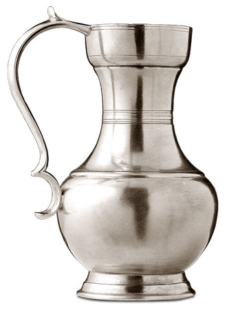 Jug cm h 20 (Pewter) - collection: Aosta. Cosi Tabellini.