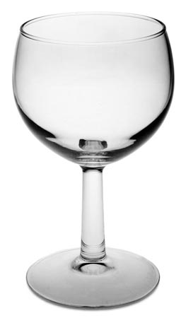 Wine glass cm h 14 x cl 25 (Glass) - collection: Tosca. Cosi Tabellini.