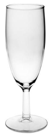 Champagne glass cm h 17 x cl 17 (Glass) - collection: Tosca. Cosi Tabellini.