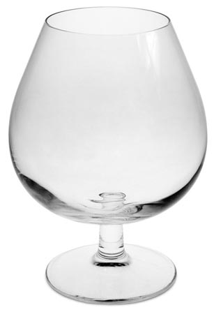 Big brandy glass cm h 14,5 cl 57 (lead-free Crystal glass) - collection: Tosca. Cosi Tabellini.