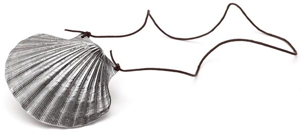Shell cm 10x11 (Pewter) - collection: S. giacomo. Cosi Tabellini.