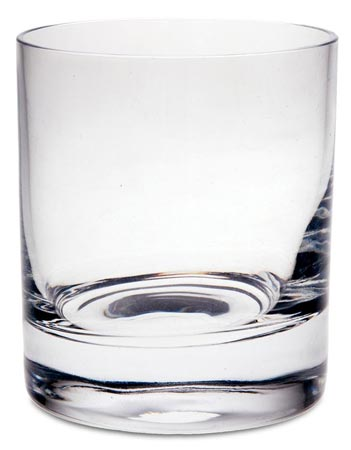 Whisky glass cm h 8,7 cl 24 (lead-free Crystal glass) - collection: Sirmione. Cosi Tabellini.