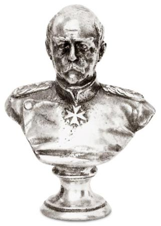 Bismarck cm 8 (Pewter / Britannia Metal) - collection: Bismarck. Cosi Tabellini.