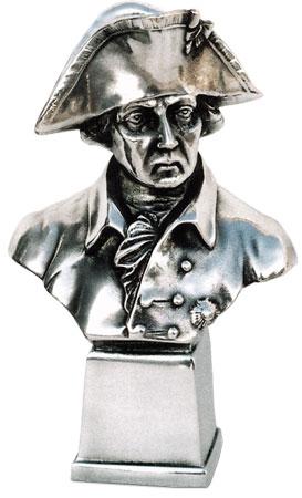 Frederick the Great cm 13 x 75 (Pewter / Britannia Metal) - collection: Alte fritz. Cosi Tabellini.