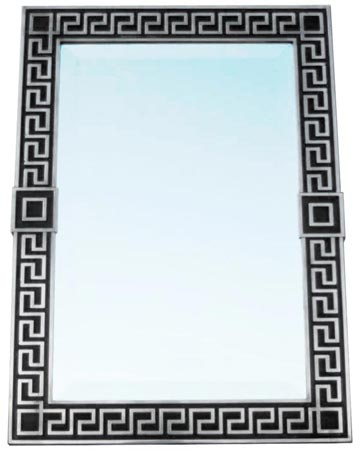 Wall mirror cm 46,5x64h (Pewter / Britannia Metal, Glass) - collection: Victorian. Cosi Tabellini.