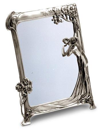 Specchio Stile Liberty 131 Cm 36 5 X 27 Peltro