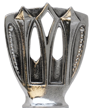 Deco figure cm h 4 (Pewter / Britannia Metal) - collection: Deco. Cosi Tabellini.