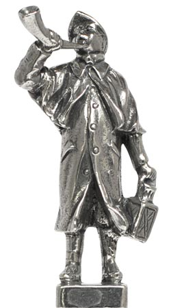 Night watchman cm 0 (Pewter / Britannia Metal) - collection: Arts and crafts. Cosi Tabellini.