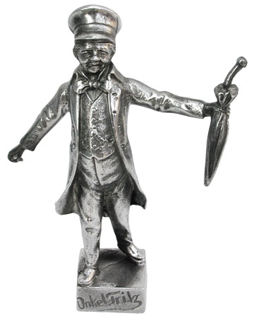 Onkel Fritz cm 11 (Pewter / Britannia Metal) - collection: Wilhelm busch. Cosi Tabellini.