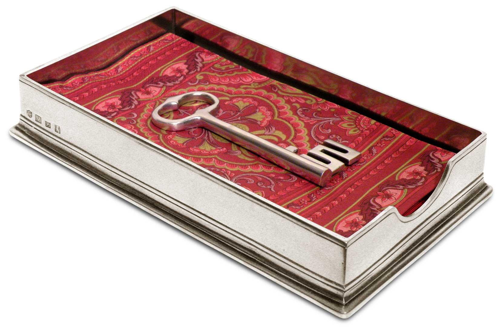 porte serviettes papier avec cl 39 sirmione 39 cm 23 5x13. Black Bedroom Furniture Sets. Home Design Ideas