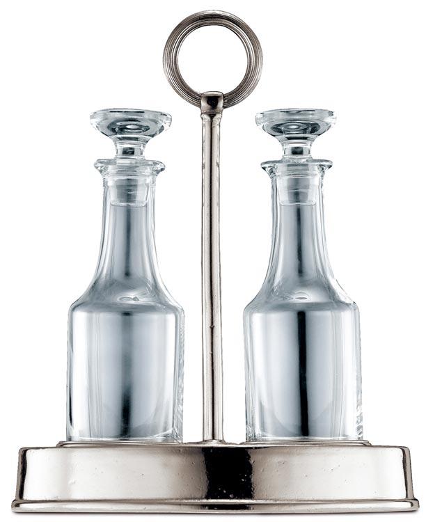 essig und l set cm h 24 zinn bleifreies kristallglas cosi tabellini. Black Bedroom Furniture Sets. Home Design Ideas