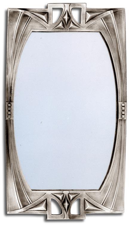 Astonishing Wall Mirror Art Deco 84 15 Grey Pewter Britannia Download Free Architecture Designs Terchretrmadebymaigaardcom