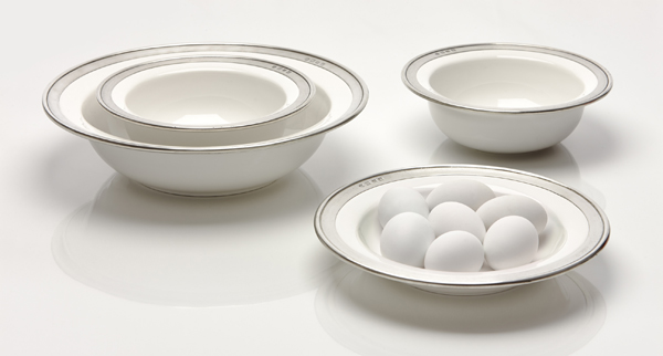 Pewter and Ceramic Tableware - Modern Times