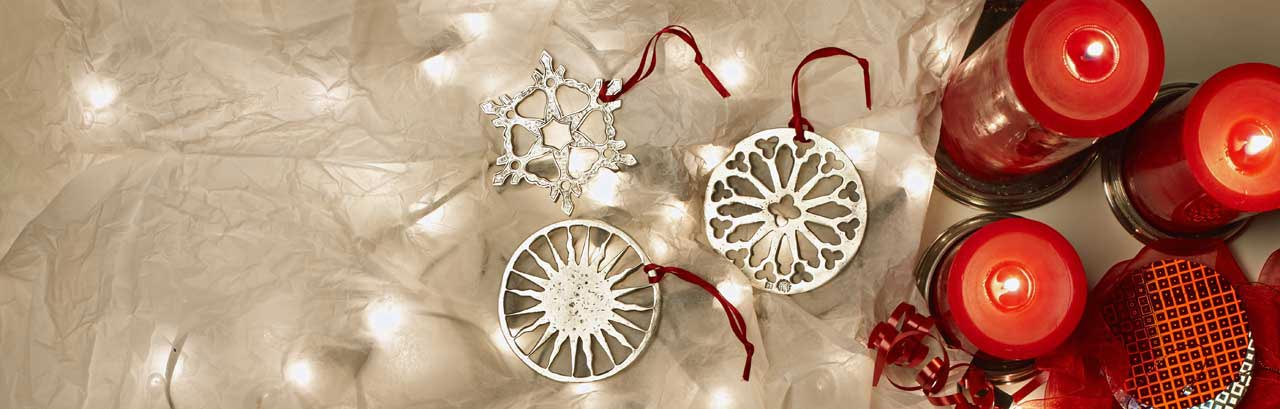 Christmas ornaments made in Italy