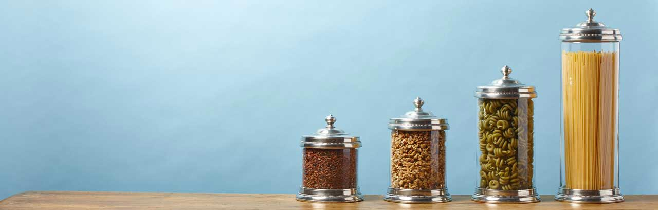 canisters, jar made in Italy