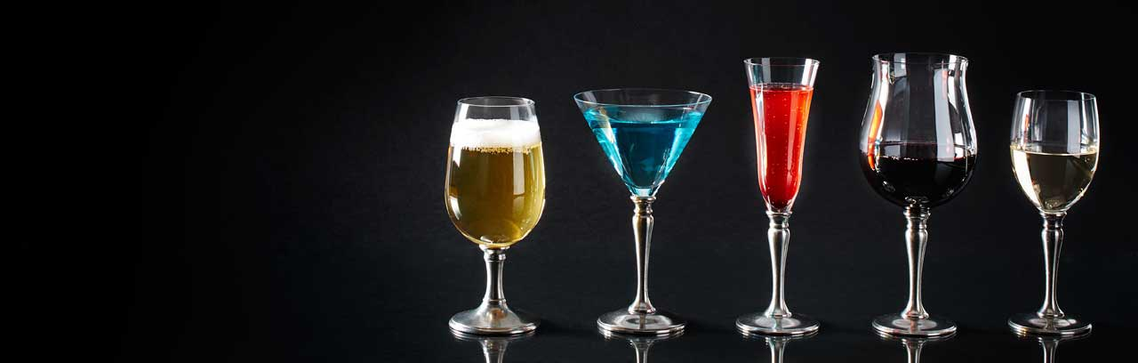 glasses, goblets, tumblers made in Italy