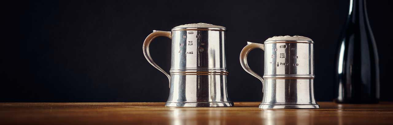 tankards made in Italy
