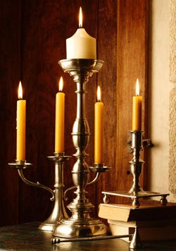 The Golden Age of Pewter - Candlesticks