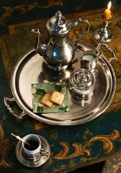 The Golden Age of Pewter - Creamers, Tea pots