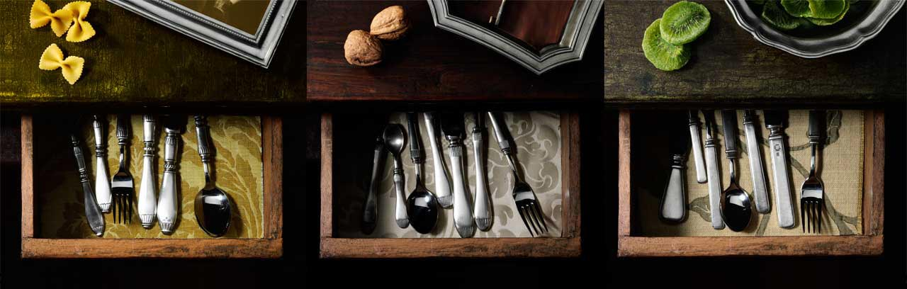 flatware, cutlery made in Italy