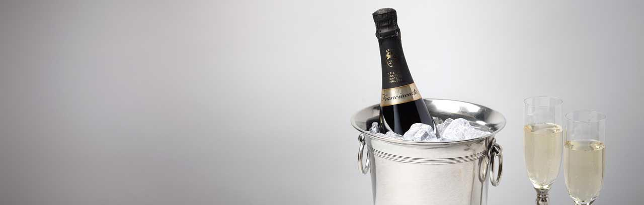 champagne buckets made in Italy