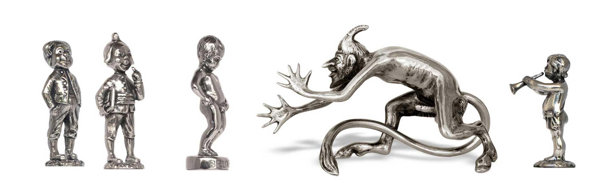 Statuettes, Figurines, Miniatures made in Italy