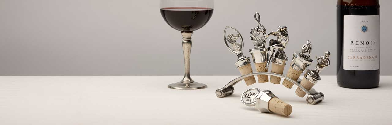 decorative wine corks made in Italy