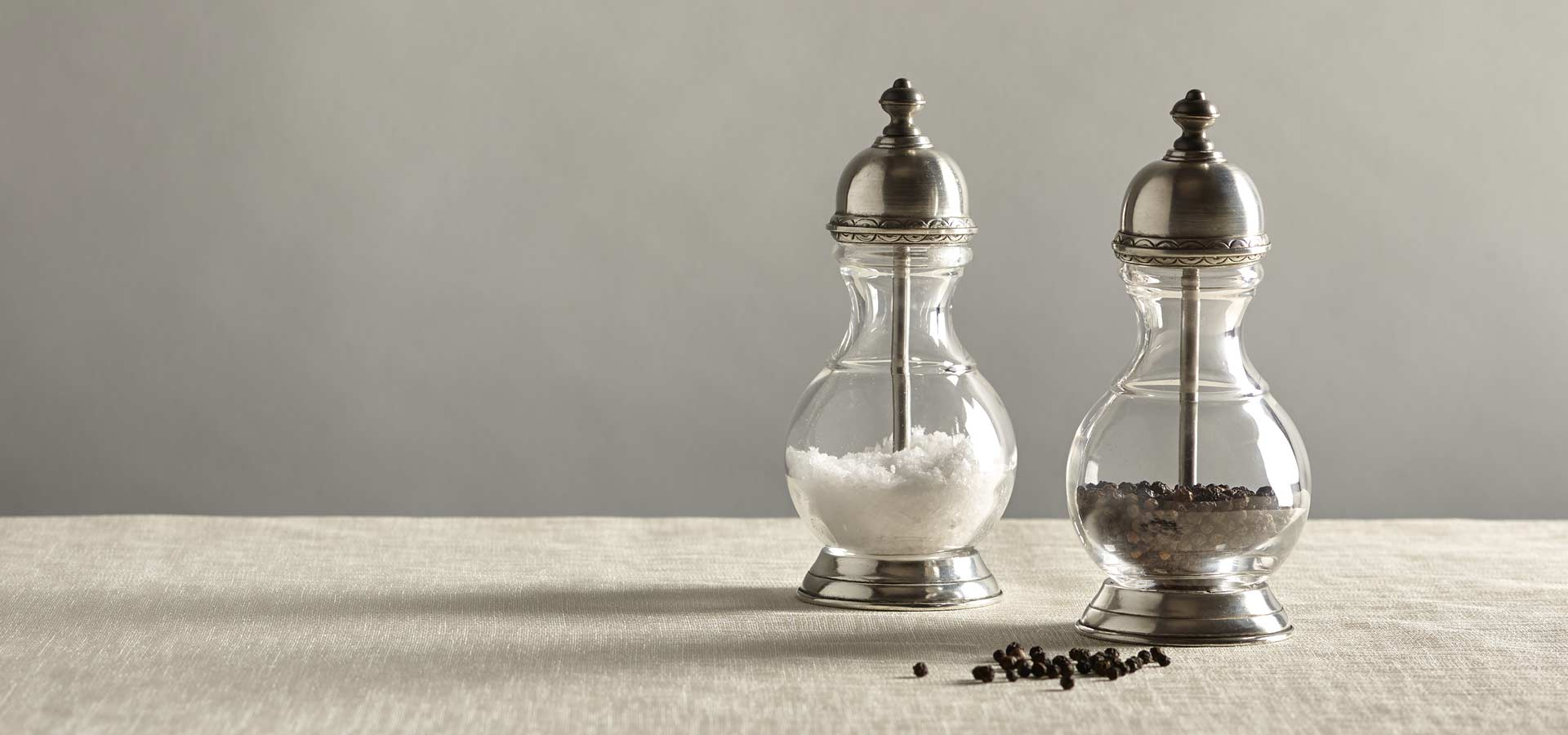 salt and pepper mills