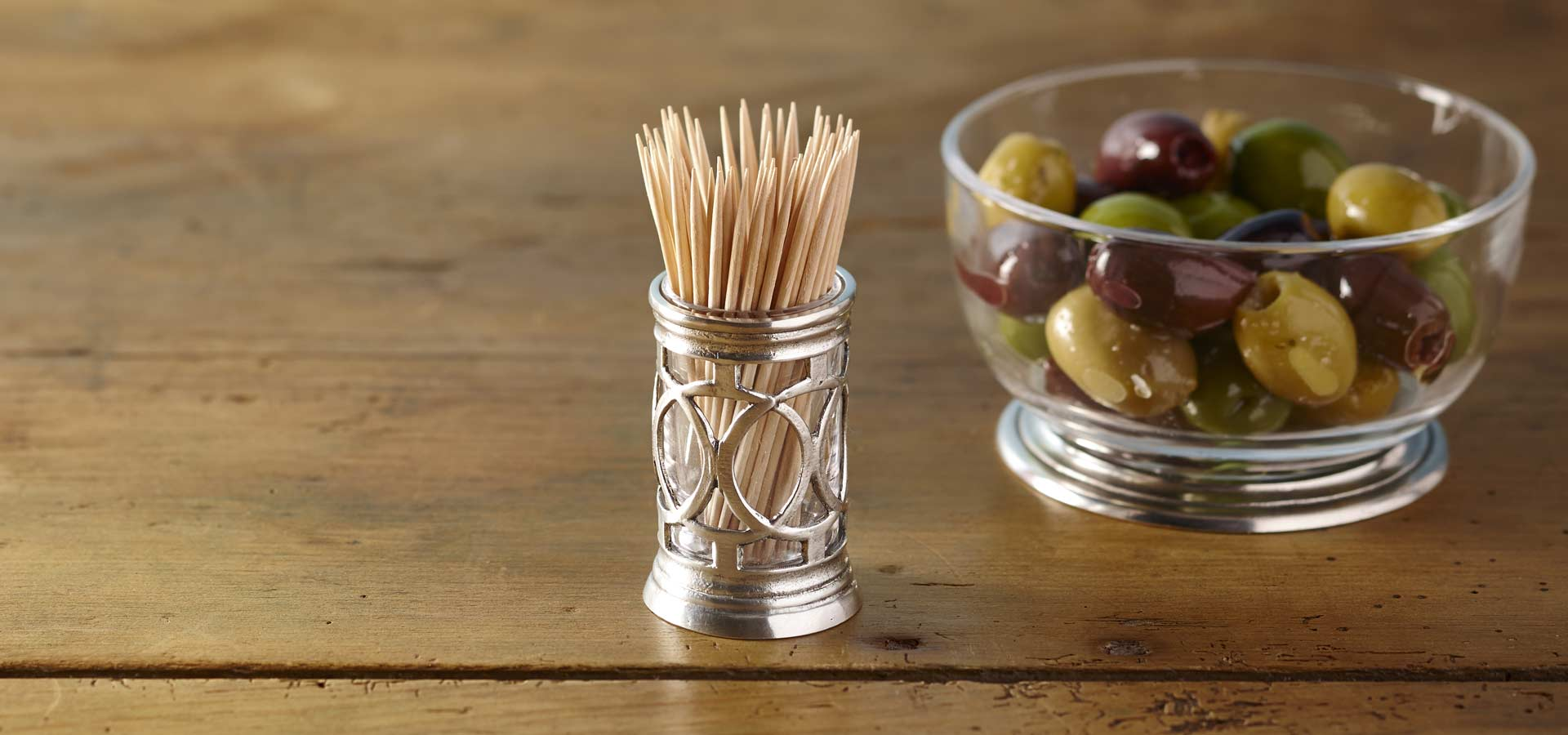 toothpick and cocktail stick holders